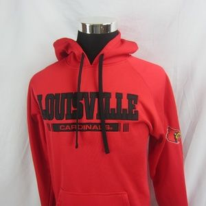 Men's Champion  LOUISVILLE CARDINALS Hoodie Sz S